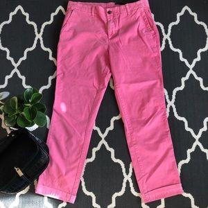 Gap Pink cropped pants